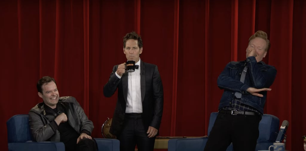 Every Time Paul Rudd Tricked Conan O'Brien With Mac and Me