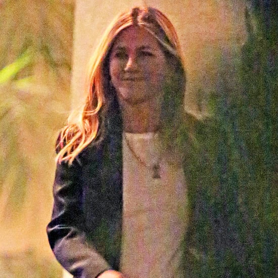 Jennifer Aniston at Courteney Cox's House in LA Feb. 2018