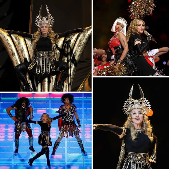 Madonna 2012 Super Bowl Half-Time Performance Pictures