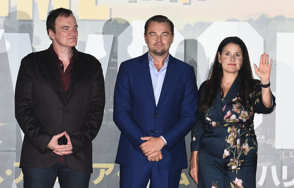 Quentin Tarantino, Leonardo DiCaprio, and Shannon McIntosh at the Tokyo premiere of Once Upon a Time in Hollywood.
