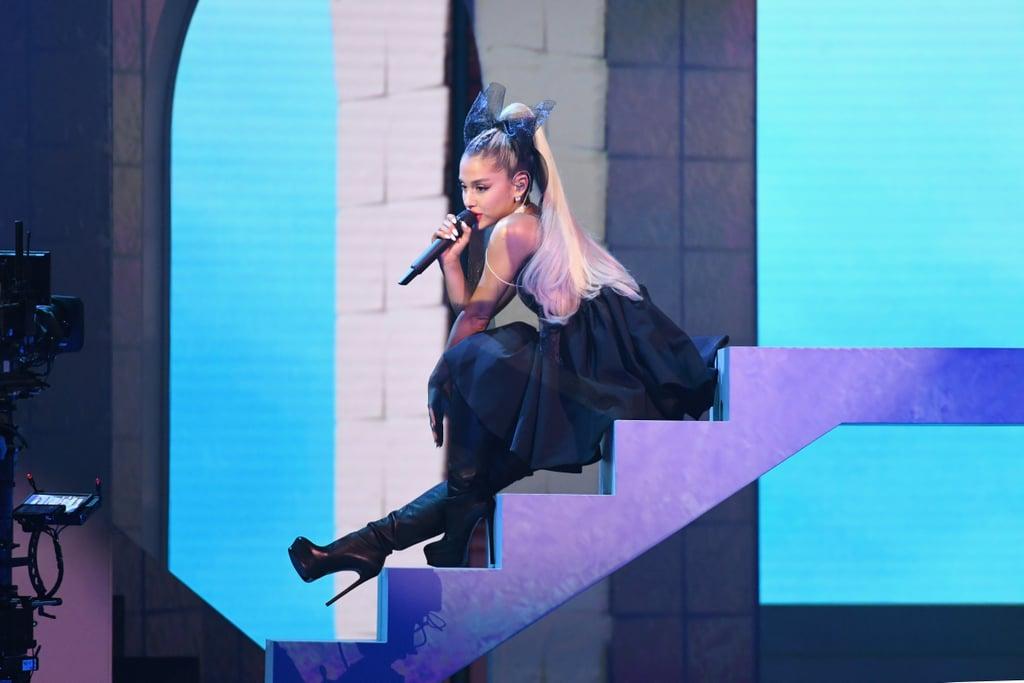 Ariana Grande's Hair Bow at 2018 Billboard Music Awards