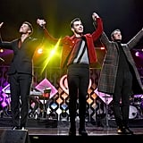 The Jonas Brothers at iHeartRadio's Z100 Jingle Ball
