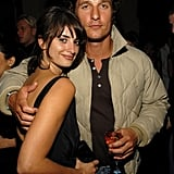 In 2005, Matthew began dating Penélope Cruz — they took their romance off screen after starring together in Sahara.