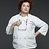 "Kate Mulgrew as Galina ""Red"" Reznikov"