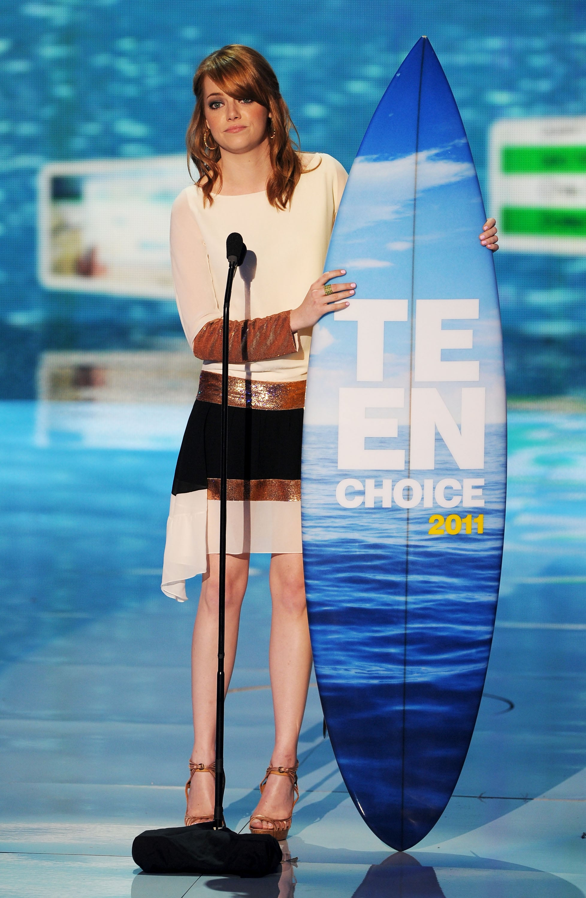 Pictures From 2011 Teen Choice Awards Show With Robert