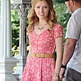 Anna Kendrick filmed an engagement scene for The Last Five Years in NYC on Monday.