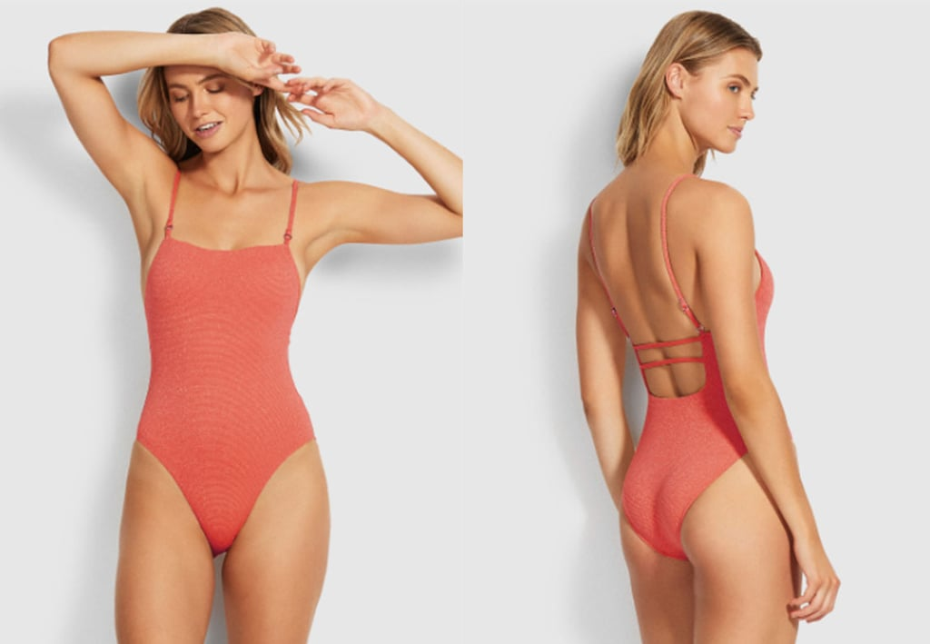 Stardust Square Neck One Piece ($129.95).