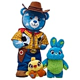 Disney and Pixar Toy Story 4 Bear Woody, Ducky and Bunny Gift Set