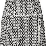 Oscar de la Renta for The Outnet pleated tweed miniskirt ($450)