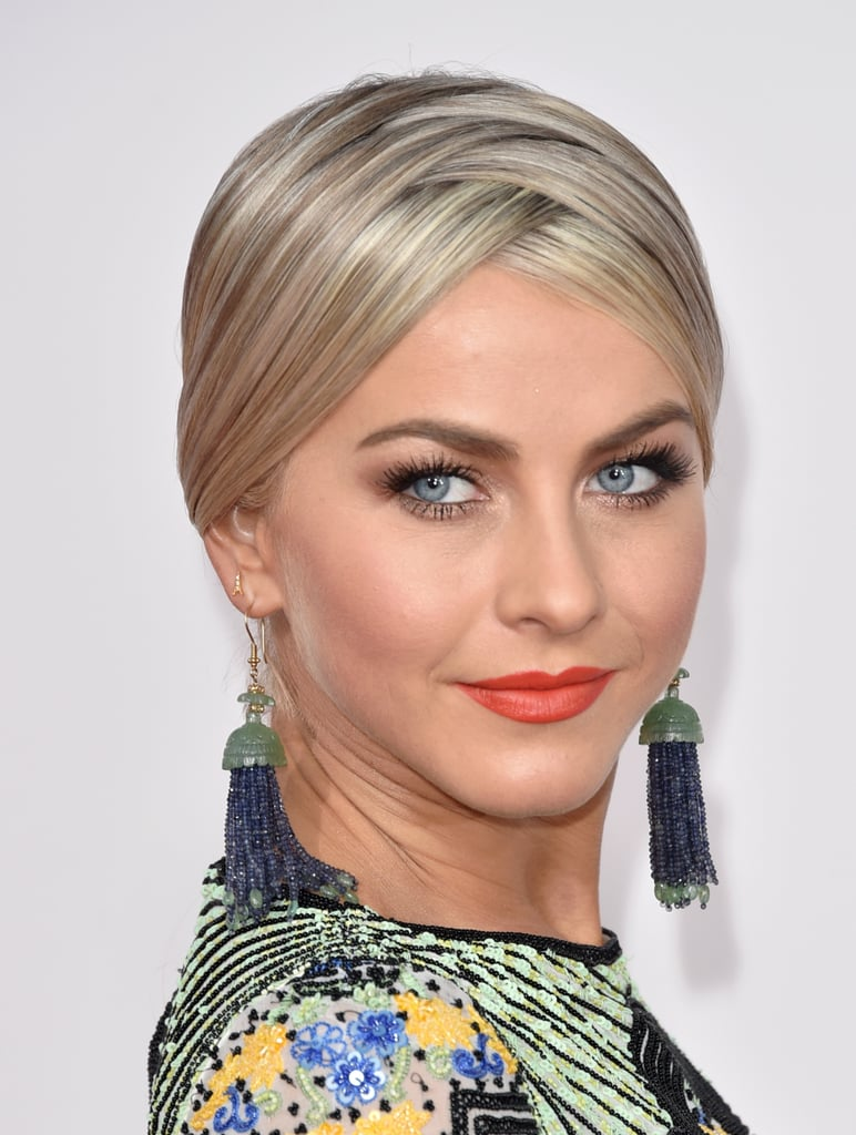 how to style my hair like julianne hough julianne hough s hair at american awards 2015 5435