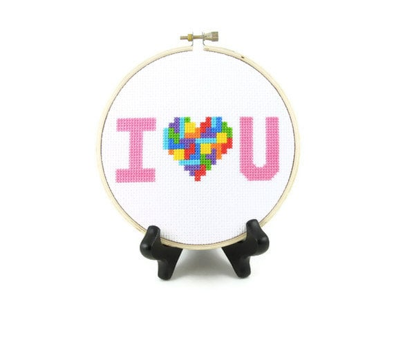Tetris Pixel Heart