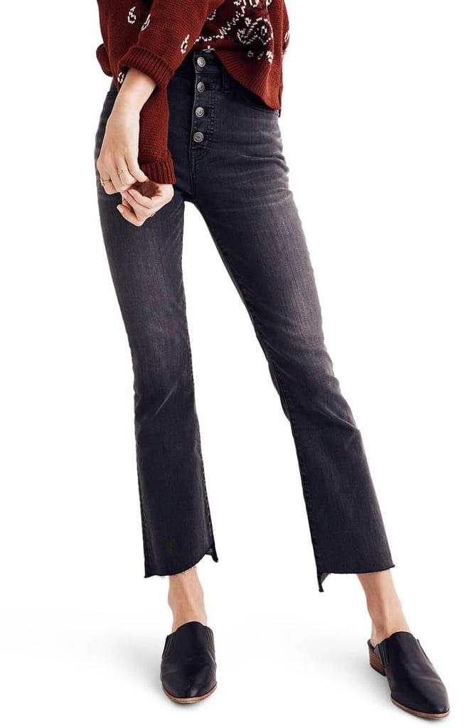 Madewell Women's Cali Demi Bootcut Crop Jeans