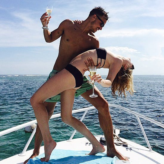 Candice Accola and Joe King Honeymoon Pictures