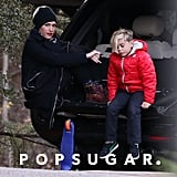 Gwen Stefani and Kingston Rossdale hit the park.