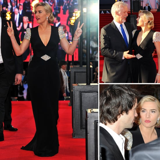 Titanic 3D Premiere Pictures of Kate Winslet, James Cameron and Billy Zane
