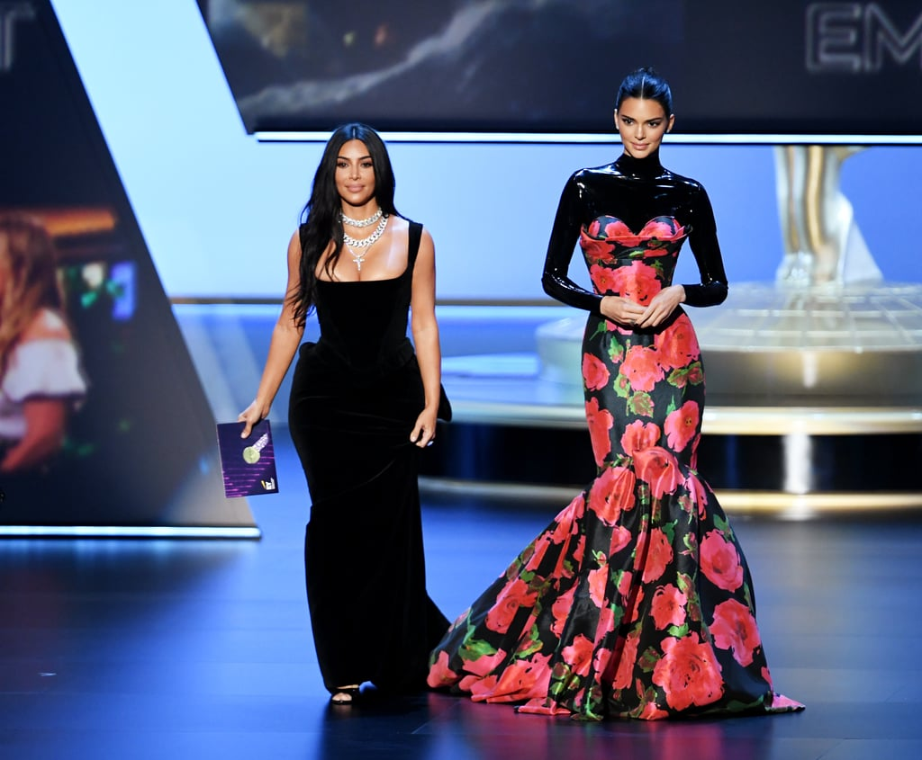 Kim Kardashian and Kendall Jenner's Outfits at Emmys 2019