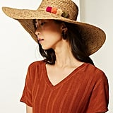 Marks and Spencer US Brim Flat Top Sun Hat