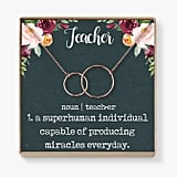 Teacher Appreciation Necklace
