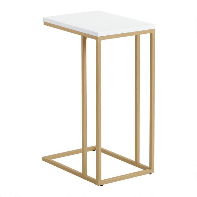 Gold Ryder Laptop Table