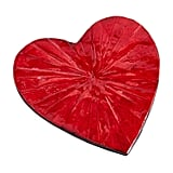 Red Heart Mother-of-Pearl Coaster