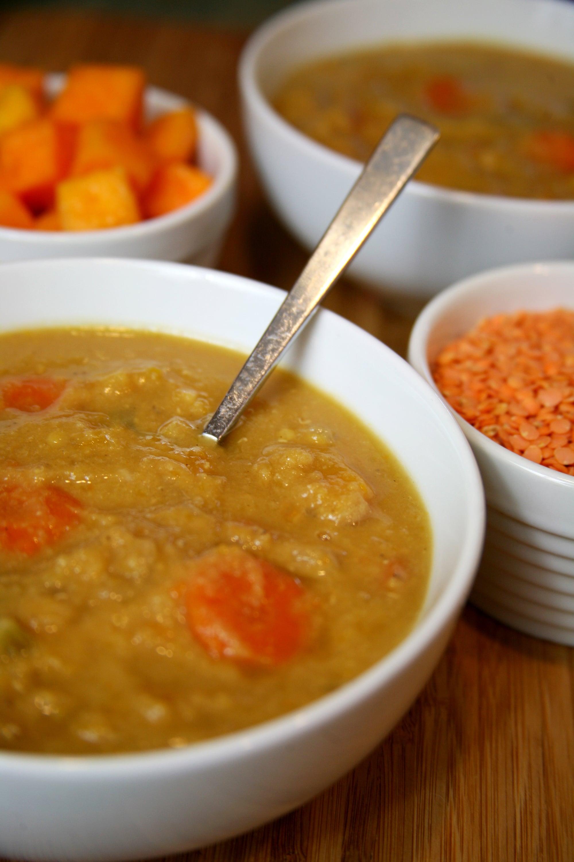 Sunday: Butternut Squash Lentil Soup