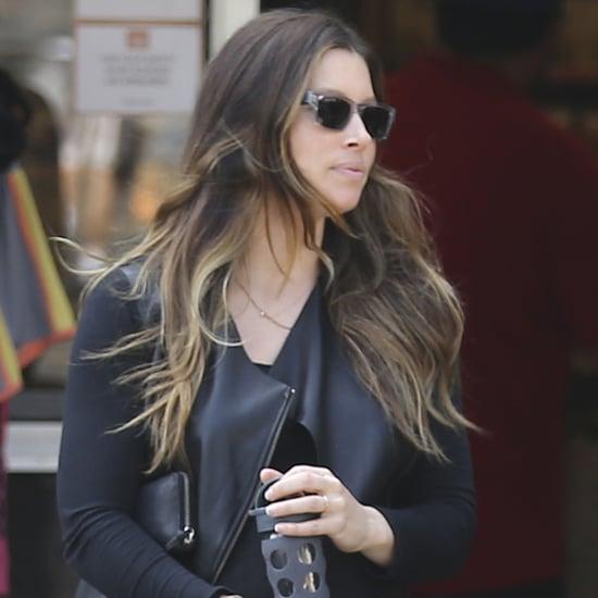 Pictures of Pregnant Jessica Biel in LA