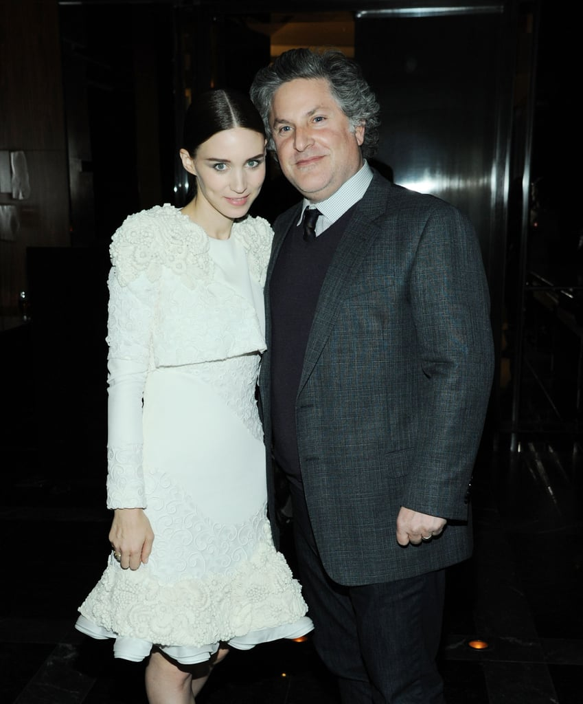 Rooney Mara posed with Gregory Jacobs at the afterparty.
