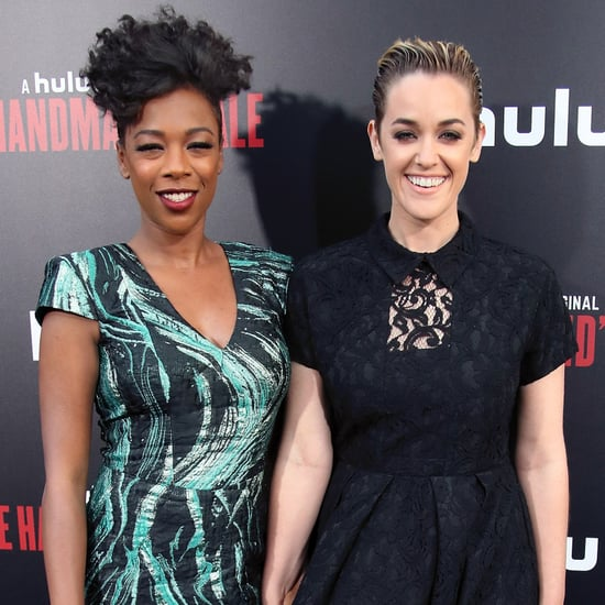 Samira Wiley and Lauren Morelli at Handmaid's Tale Premiere