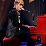 "Colton Dixon sang Earth, Wind & Fire's ""September."""