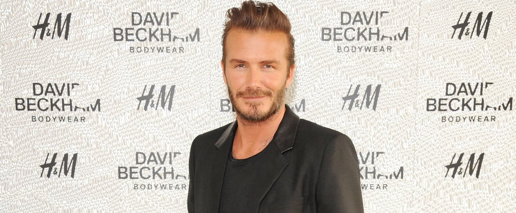 David Beckham's 4-Year-Old Daughter Designs His Latest Tattoo