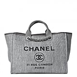 Chanel Canvas Large Deauville Tote