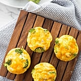 Broccoli and Cheddar Egg Muffins