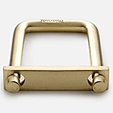 Miansai Brass Tension Keychain