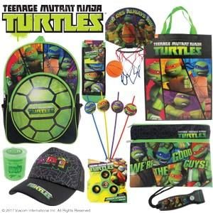 TMNT Teenage Mutant Ninja Turtles Showbag ($26) Includes:  Socks  Basketball  Torch