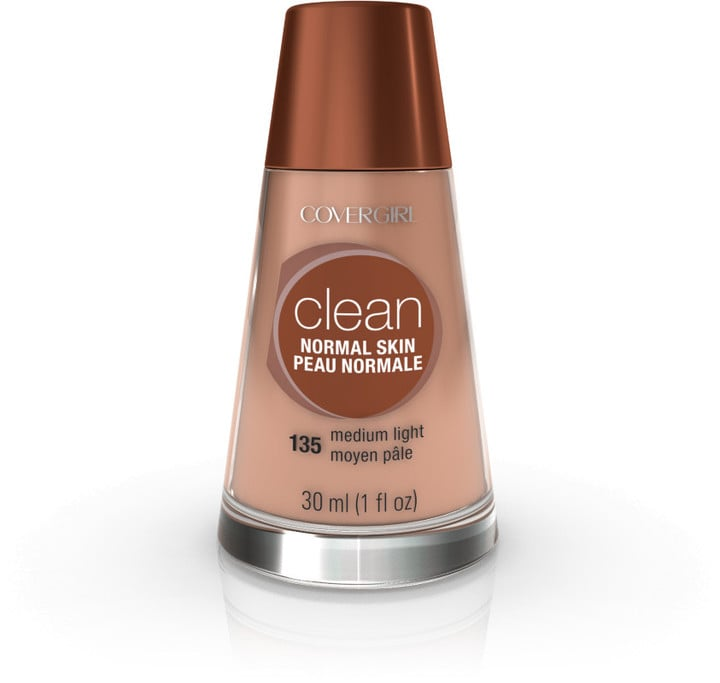 CoverGirl Clean Makeup, Normal Skin ($7) comes in 12 shades.
