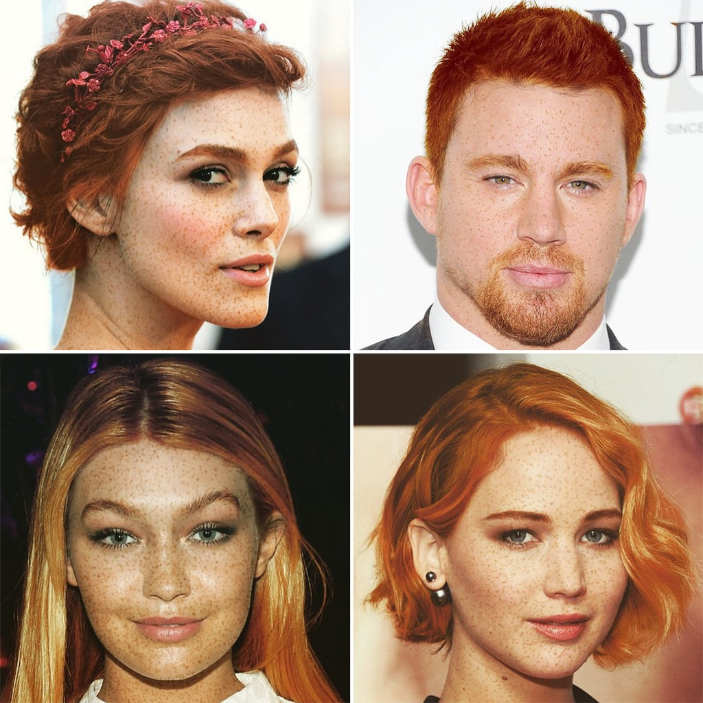 Celebrities As Red Heads Put A Rang On It Popsugar