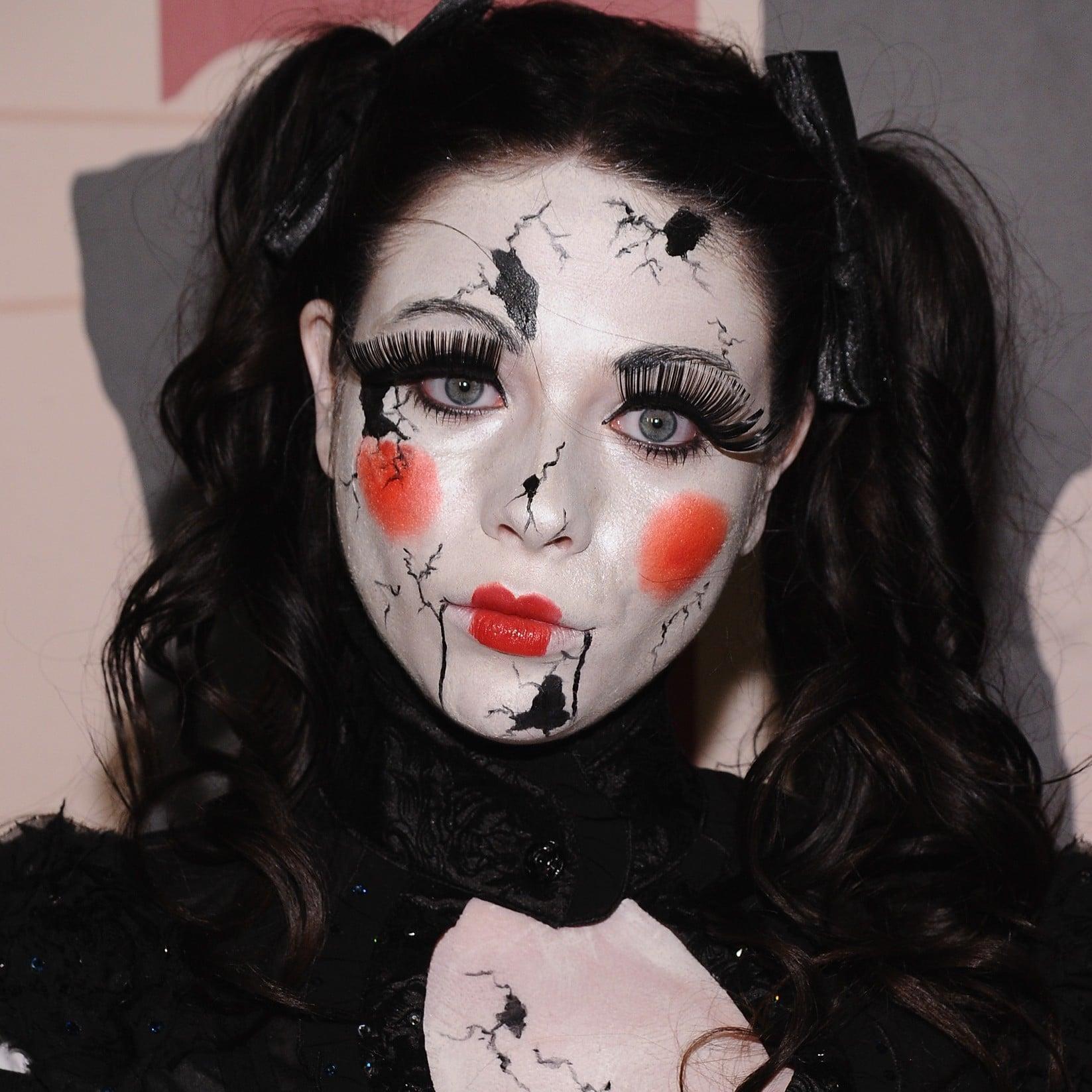 Celebrity Halloween Makeup Looks Popsugar Beauty