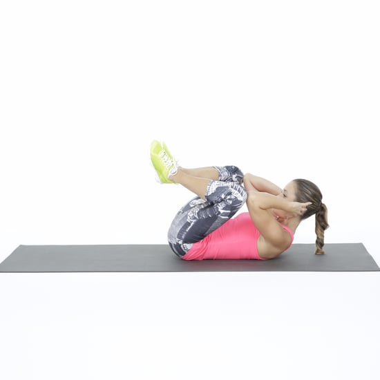 Frog Crunch Ab Exercise