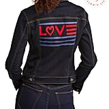 EV1 Love Flag Denim Jacket