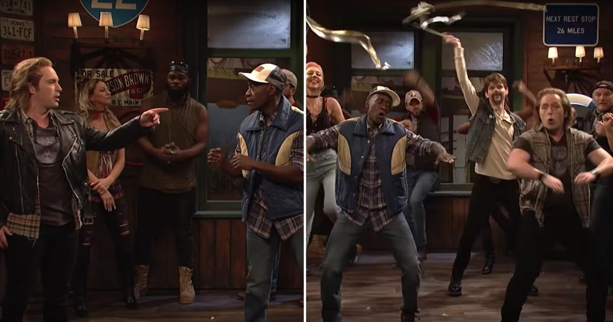 A Bar Fight Suddenly Turns Into an Impressive Synchronized Dance in This SNL Sketch