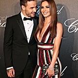 Liam Payne and Cheryl Fernandez-Versini
