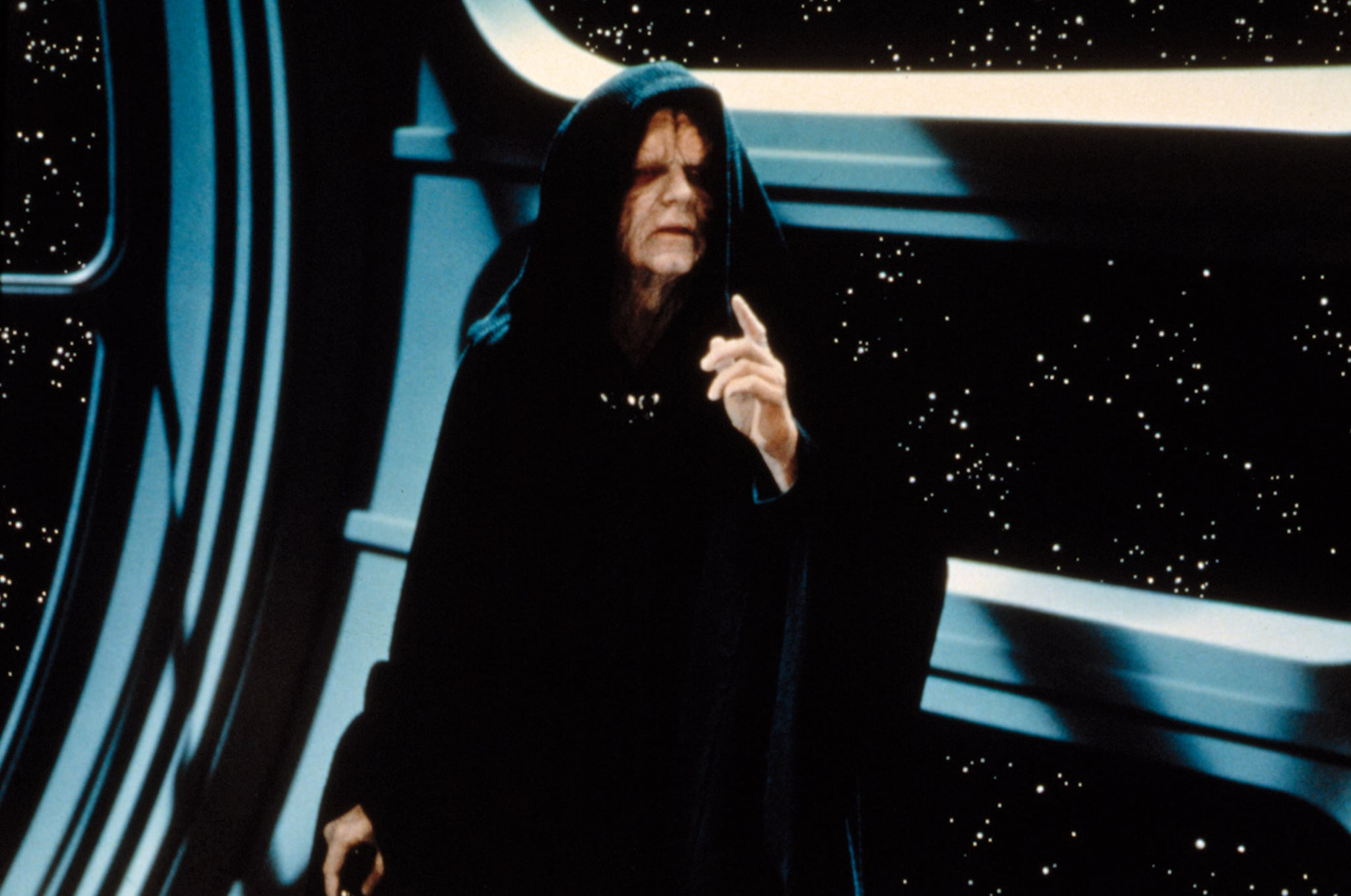 STAR WARS: EPISODE VI - RETURN OF THE JEDI, Ian McDiarmid, 1983.