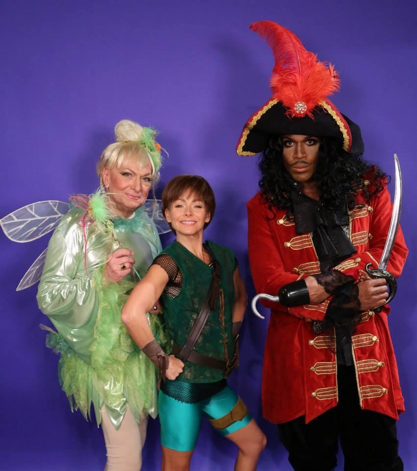 Peter Pan and Captain Hook