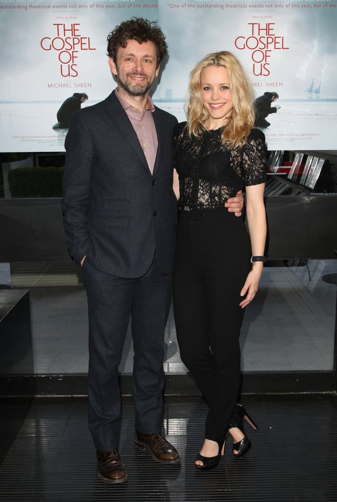 """Michael Sheen had Rachel McAdams by his side at tonight's London screening of his new release, The Gospel of Us. The couple arrived hand in hand at the Renoir Cinema and posed for photos before heading inside with the cast. Rachel and Michael stepped out together on Easter, as well as at the film's premiere in his hometown of Port Talbot, Wales.  The movie, which Michael co-directed, is a modern retelling of Jesus Christ's crucifixion. Talking about the project Michael said, """"It was a completely new thing for everyone and, as such, we didn't really know what we were doing or what the effect would be or how it would affect people, so I think if it inspires people to do something similar, that's brilliant."""" Michael will return to the big screen again this Summer when he wraps up his role as Aro in Breaking Dawn Part 2, the final installment in the Twilight franchise."""