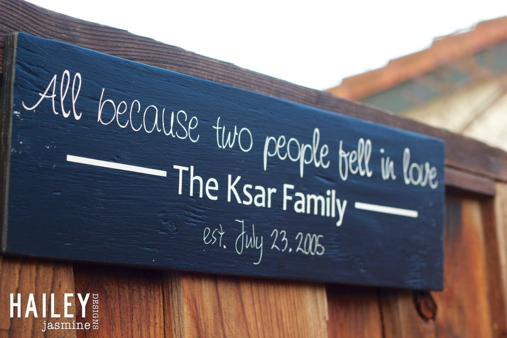 Cute Signs About Family