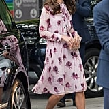 Kate Middleton Kate Spade Dress World Mental Health Day 2016