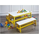 AmazonBasics Indoor Kids Table and Bench Set