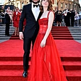 The couple dressed to the nines when they attended the Olivier Awards in London in April 2017.