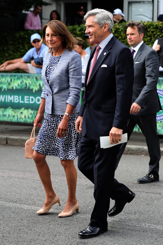Carole Middleton in July 2016