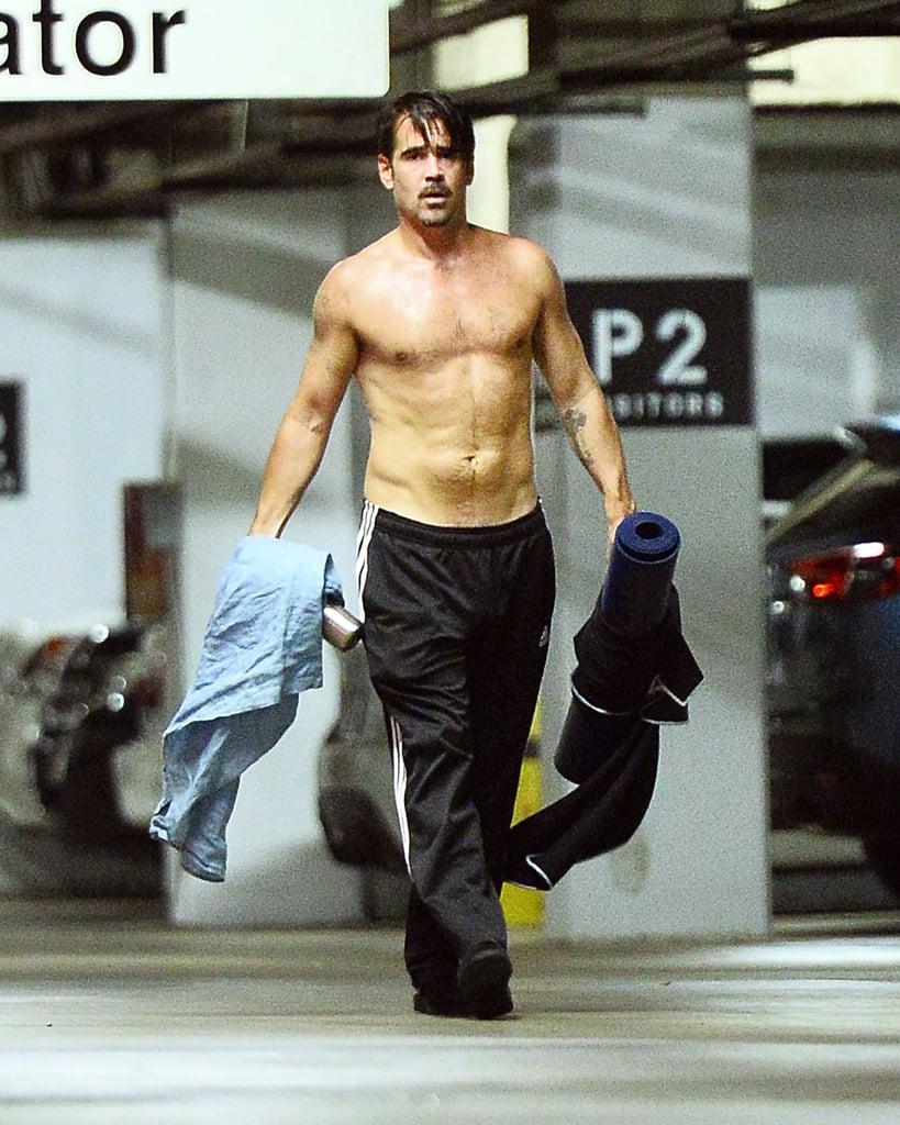 Colin Farrell Shirtless Photos | POPSUGAR Celebrity